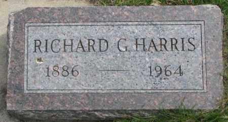 HARRIS, RICHARD G. - Dakota County, Nebraska | RICHARD G. HARRIS - Nebraska Gravestone Photos