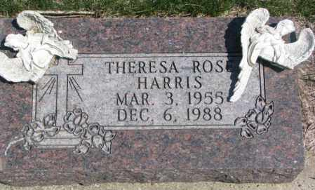 HARRIS, THERESA ROSE - Dakota County, Nebraska   THERESA ROSE HARRIS - Nebraska Gravestone Photos