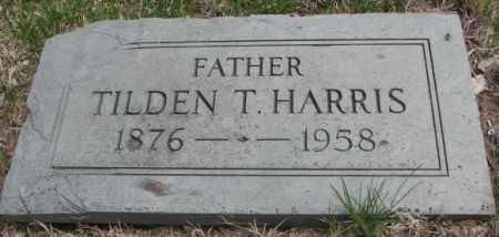 HARRIS, TILDEN T. - Dakota County, Nebraska | TILDEN T. HARRIS - Nebraska Gravestone Photos