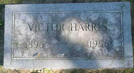 HARRIS, VICTOR - Dakota County, Nebraska   VICTOR HARRIS - Nebraska Gravestone Photos