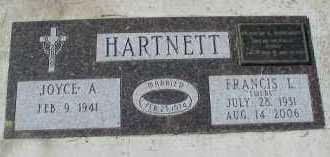 HARTNETT, FRANCIS L. - Dakota County, Nebraska | FRANCIS L. HARTNETT - Nebraska Gravestone Photos