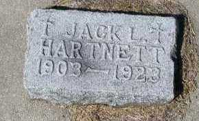 HARTNETT, JACK L. - Dakota County, Nebraska | JACK L. HARTNETT - Nebraska Gravestone Photos