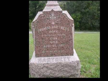 HARTNETT, THOMAS - Dakota County, Nebraska   THOMAS HARTNETT - Nebraska Gravestone Photos