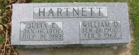 HARTNETT, WILLIAM D. - Dakota County, Nebraska | WILLIAM D. HARTNETT - Nebraska Gravestone Photos