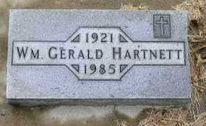 HARTNETT, WM GERALD - Dakota County, Nebraska   WM GERALD HARTNETT - Nebraska Gravestone Photos