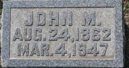 HARTY, JOHN M. - Dakota County, Nebraska | JOHN M. HARTY - Nebraska Gravestone Photos