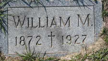 HARTY, WILLIAM M. - Dakota County, Nebraska | WILLIAM M. HARTY - Nebraska Gravestone Photos