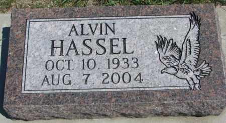 HASSEL, ALVIN - Dakota County, Nebraska | ALVIN HASSEL - Nebraska Gravestone Photos