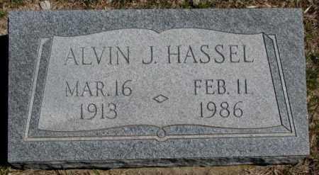 HASSEL, ALVIN J. - Dakota County, Nebraska   ALVIN J. HASSEL - Nebraska Gravestone Photos