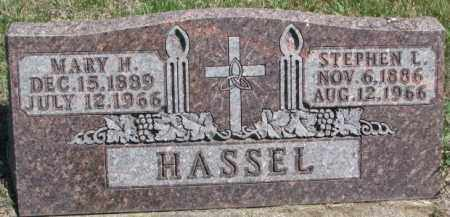HASSEL, STEPHEN L. - Dakota County, Nebraska | STEPHEN L. HASSEL - Nebraska Gravestone Photos