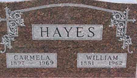 HAYES, CARMELA - Dakota County, Nebraska | CARMELA HAYES - Nebraska Gravestone Photos