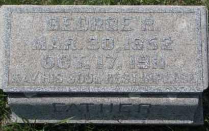 HAYES, GEORGE R. - Dakota County, Nebraska | GEORGE R. HAYES - Nebraska Gravestone Photos