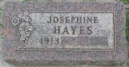 HAYES, JOSEPHINE - Dakota County, Nebraska | JOSEPHINE HAYES - Nebraska Gravestone Photos