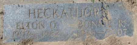 HECKATHORN, ELTON O. - Dakota County, Nebraska | ELTON O. HECKATHORN - Nebraska Gravestone Photos