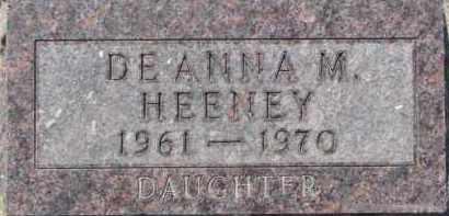 HEENEY, DEANNA M. - Dakota County, Nebraska | DEANNA M. HEENEY - Nebraska Gravestone Photos