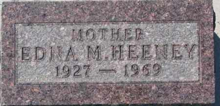 HEENEY, EDNA M. - Dakota County, Nebraska | EDNA M. HEENEY - Nebraska Gravestone Photos