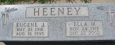HEENEY, EUGENE J. - Dakota County, Nebraska | EUGENE J. HEENEY - Nebraska Gravestone Photos