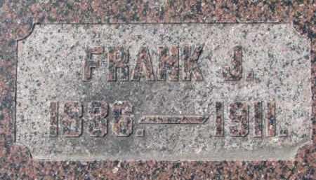 HEENEY, FRANK J. - Dakota County, Nebraska | FRANK J. HEENEY - Nebraska Gravestone Photos