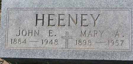 HEENEY, JOHN E. - Dakota County, Nebraska | JOHN E. HEENEY - Nebraska Gravestone Photos