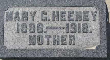 HEENEY, MARY C. - Dakota County, Nebraska   MARY C. HEENEY - Nebraska Gravestone Photos