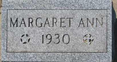HEENEY, MARGARET ANN - Dakota County, Nebraska | MARGARET ANN HEENEY - Nebraska Gravestone Photos
