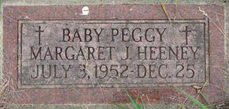 HEENEY, PEGGY MARGARET J. - Dakota County, Nebraska | PEGGY MARGARET J. HEENEY - Nebraska Gravestone Photos