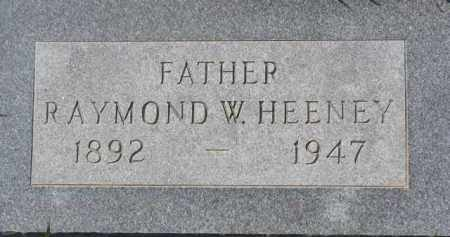 HEENEY, RAYMOND W. - Dakota County, Nebraska | RAYMOND W. HEENEY - Nebraska Gravestone Photos