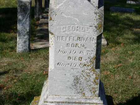 HEFFERNAN, GEORGE - Dakota County, Nebraska | GEORGE HEFFERNAN - Nebraska Gravestone Photos