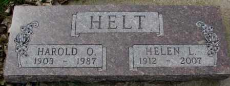 HELT, HELEN L. - Dakota County, Nebraska | HELEN L. HELT - Nebraska Gravestone Photos