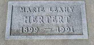 HERTERT, MARIE - Dakota County, Nebraska | MARIE HERTERT - Nebraska Gravestone Photos