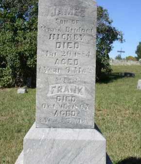 HICKEY, JAMES - Dakota County, Nebraska | JAMES HICKEY - Nebraska Gravestone Photos