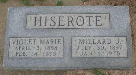 HISEROTE, MILLARD J. - Dakota County, Nebraska | MILLARD J. HISEROTE - Nebraska Gravestone Photos
