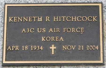 HITCHCOCK, KENNETH R. (MILITARY) - Dakota County, Nebraska | KENNETH R. (MILITARY) HITCHCOCK - Nebraska Gravestone Photos