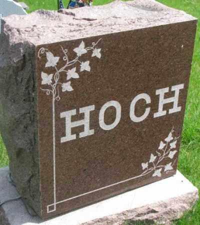 HOCH, PLOT - Dakota County, Nebraska | PLOT HOCH - Nebraska Gravestone Photos