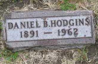 HODGINS, DANIEL B. - Dakota County, Nebraska   DANIEL B. HODGINS - Nebraska Gravestone Photos