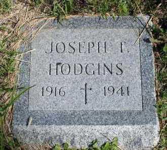 HODGINS, JOSEPH T. - Dakota County, Nebraska | JOSEPH T. HODGINS - Nebraska Gravestone Photos