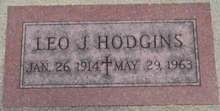 HODGINS, LEO J. - Dakota County, Nebraska | LEO J. HODGINS - Nebraska Gravestone Photos