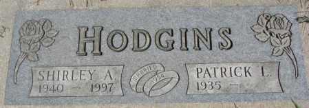 HODGINS, SHIRLEY A. - Dakota County, Nebraska | SHIRLEY A. HODGINS - Nebraska Gravestone Photos