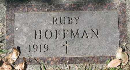 HOFFMAN, RUBY - Dakota County, Nebraska | RUBY HOFFMAN - Nebraska Gravestone Photos