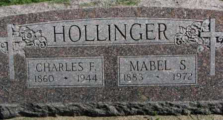 HOLLINGER, MABEL S. - Dakota County, Nebraska | MABEL S. HOLLINGER - Nebraska Gravestone Photos