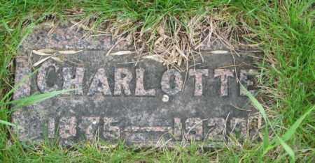 HOLSWORTH, CHARLOTTE - Dakota County, Nebraska   CHARLOTTE HOLSWORTH - Nebraska Gravestone Photos