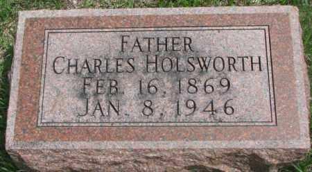 HOLSWORTH, CHARLES - Dakota County, Nebraska | CHARLES HOLSWORTH - Nebraska Gravestone Photos