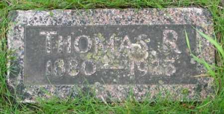 HOLSWORTH, THOMAS R. - Dakota County, Nebraska | THOMAS R. HOLSWORTH - Nebraska Gravestone Photos