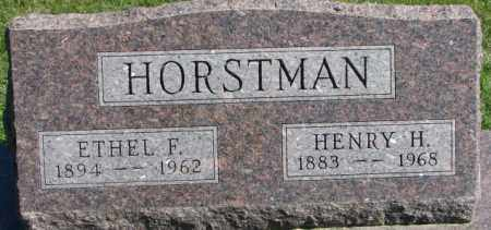 HORSTMAN, HENRY H. - Dakota County, Nebraska | HENRY H. HORSTMAN - Nebraska Gravestone Photos