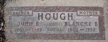 HOUGH, BLANCHE E. - Dakota County, Nebraska | BLANCHE E. HOUGH - Nebraska Gravestone Photos