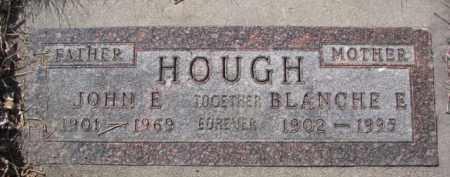 HOUGH, JOHN E. - Dakota County, Nebraska | JOHN E. HOUGH - Nebraska Gravestone Photos