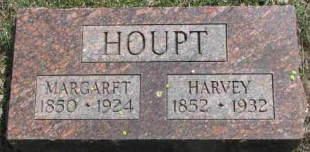 HOUPT, HARVEY - Dakota County, Nebraska | HARVEY HOUPT - Nebraska Gravestone Photos