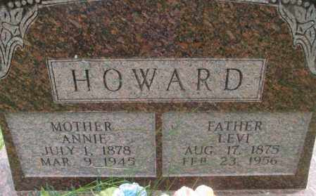 HOWARD, LEVI - Dakota County, Nebraska | LEVI HOWARD - Nebraska Gravestone Photos