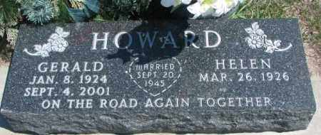 HOWARD, HELEN - Dakota County, Nebraska | HELEN HOWARD - Nebraska Gravestone Photos