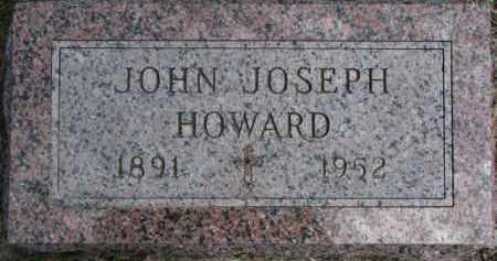 HOWARD, JOHN JOSEPH - Dakota County, Nebraska | JOHN JOSEPH HOWARD - Nebraska Gravestone Photos